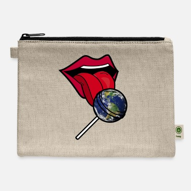 Planet Earth Lollipop - Carry All Pouch