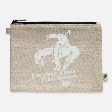 Young Neil Young And Crazy Horse Rock End Of The Trail H - Carry All Pouch