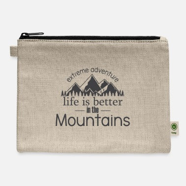 Mountains Mountains - Carry All Pouch
