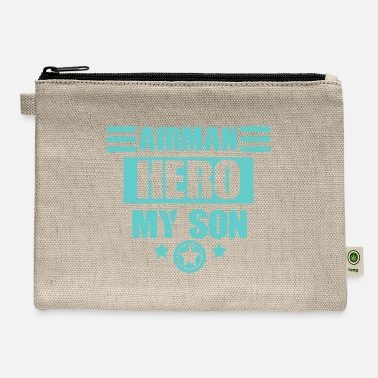 Numbered Air Force Airman Hero My Son - Air Force - Carry All Pouch