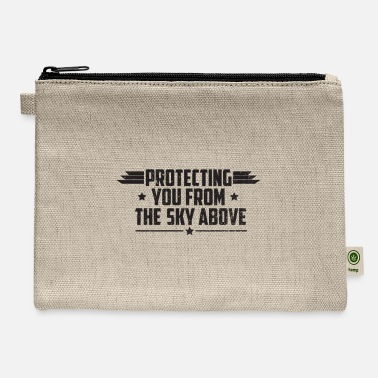 Numbered Air Force Protecting You From The Sky Above - Air Force - Carry All Pouch