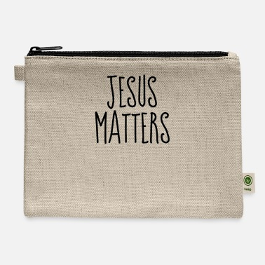 Religion Jesus Matters - Christian Quotes - Carry All Pouch