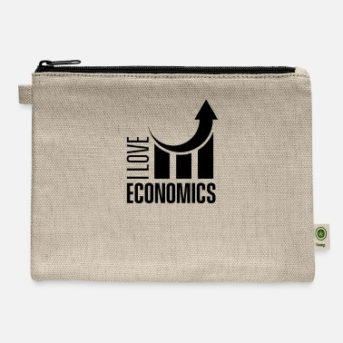 I Love I love economics economist economy - Carry All Pouch