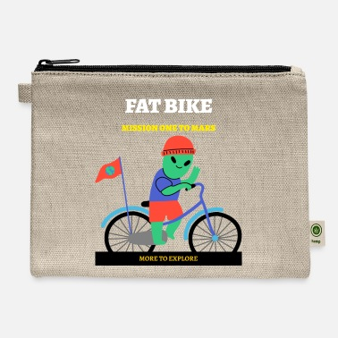 Bike Messenger Fat Bike Mission One to Mars - Carry All Pouch