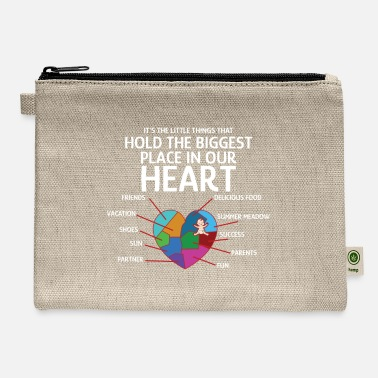 Nerdy Mothers Day Mom Mother Heart Love Child - Carry All Pouch