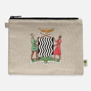 American With Zambian Roots Zambian Coat of Arms Zambia Symbol - Carry All Pouch