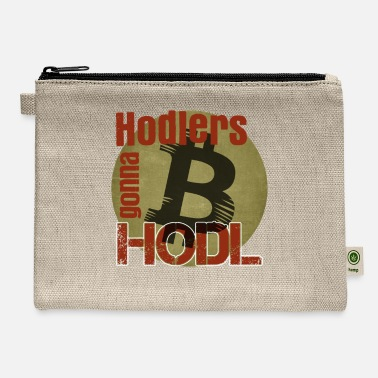 Neo Blockchain Revolution Crypto Bitcoin Shirt Hodler - Carry All Pouch