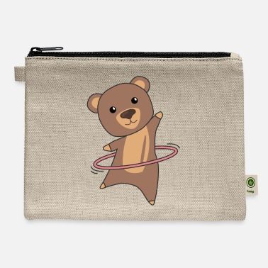 Hoops Bears The Hullern Sport Cute Animals Bears Bear - Carry All Pouch
