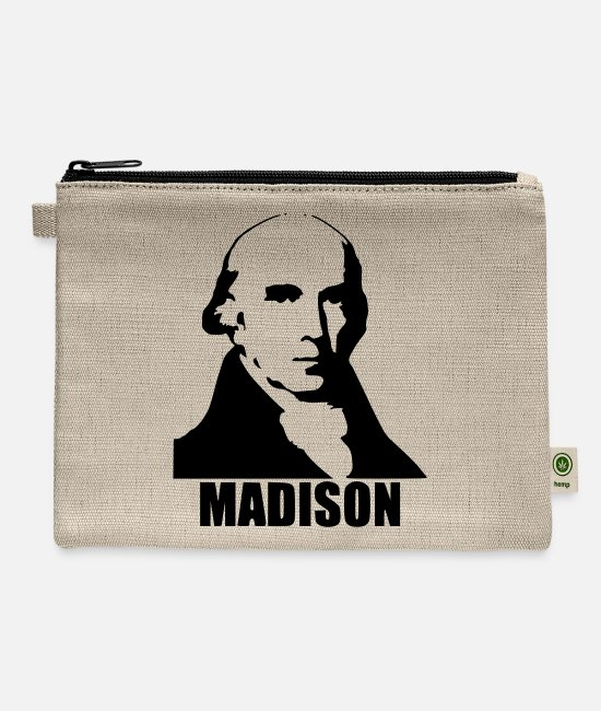 Madison Bags & Backpacks - James Madison - Carry All Pouch natural