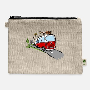 Occassionally Oh Hippie Day Van - Carry All Pouch