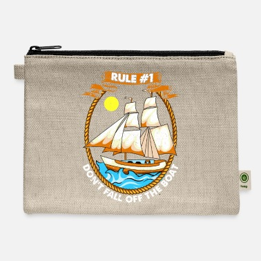 Cruise Funny Sailing Boat Owner - Carry All Pouch