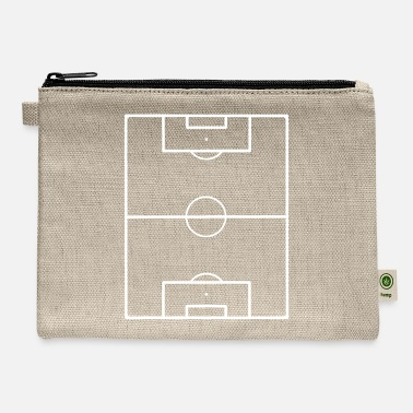 Football Field Soccer Pitch Playing Field Ground - Carry All Pouch