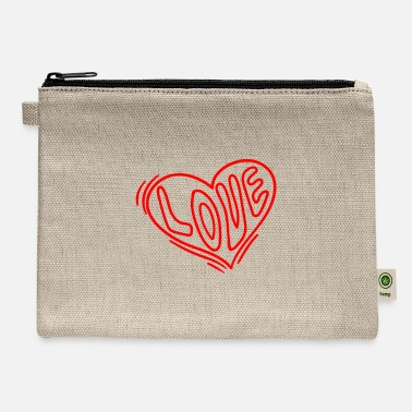 Corazon Hearts Against Hate 006 - Carry All Pouch