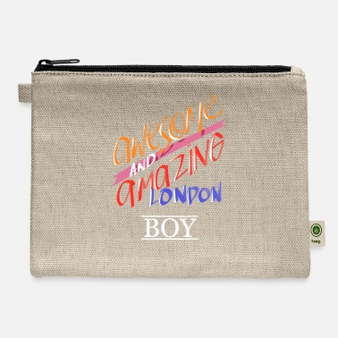 London London England Awesome Amazing London Boy Gift - Carry All Pouch