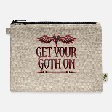 Goth Goth Gift Get Your Goth On Goth - Carry All Pouch