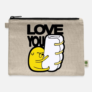 Love You love you - Carry All Pouch