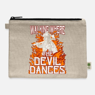 Hero Walking Where The Devil Dances - Carry All Pouch