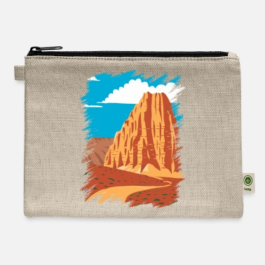 Capitol Cathedral Valley Loop - Carry All Pouch