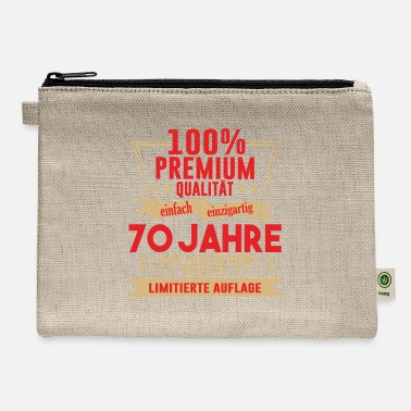Birth 70th Birthday Retro Gift Vintage 1951 70 Years - Carry All Pouch