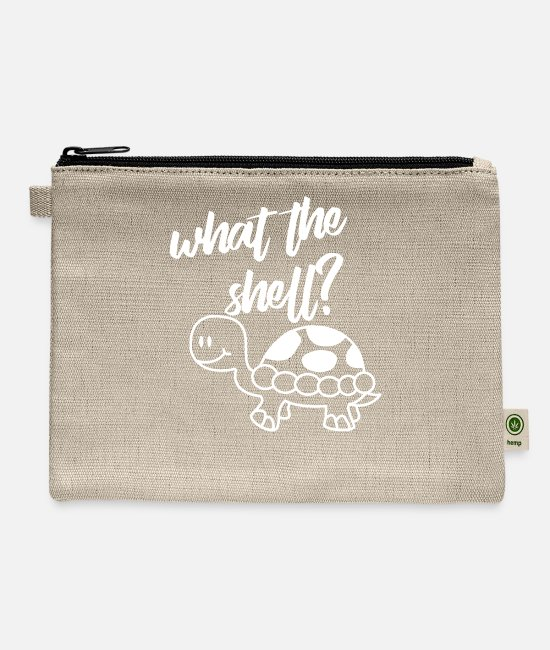 Shell Bags & Backpacks - What The Shell - Carry All Pouch natural