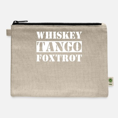 Whiskey Tango Foxtrot Whiskey Tango Foxtrot - Carry All Pouch