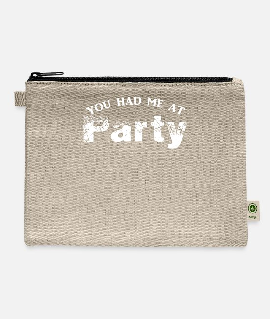 Program (what You Do) Bags & Backpacks - You Had Me At Party - Carry All Pouch natural
