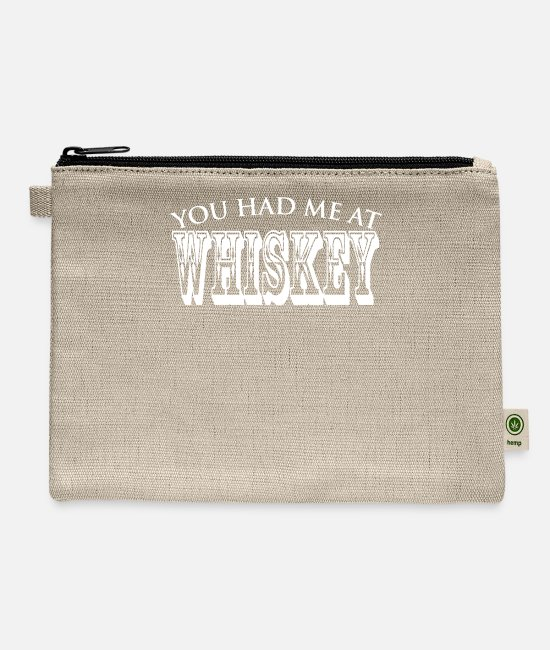 Program (what You Do) Bags & Backpacks - You Had Me At Whiskey - Carry All Pouch natural