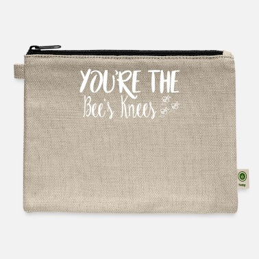 Youre The Bees Knees - Carry All Pouch