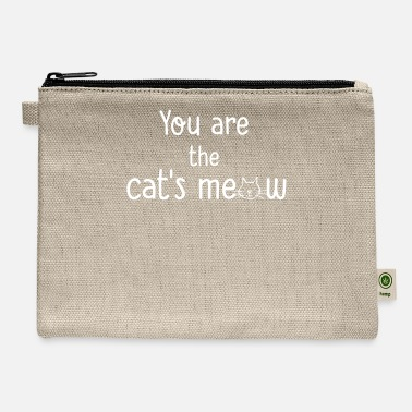 You re The Cats Meow - Carry All Pouch