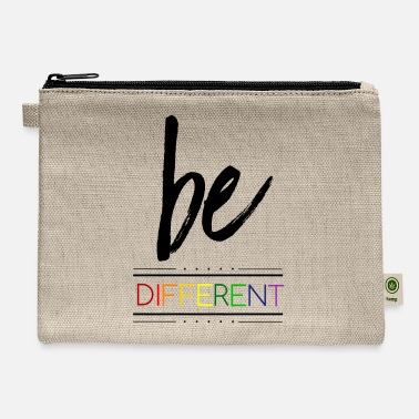 Gay be different LGBT Gay Pride - Carry All Pouch