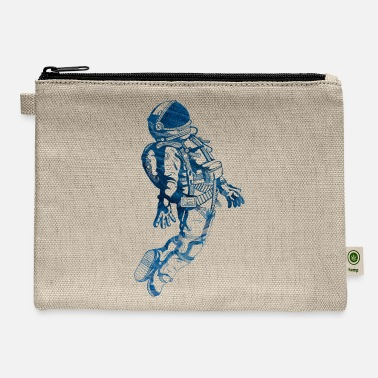 Espace Astronaut Blue Space - Carry All Pouch