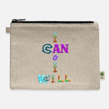 I can and I will - Carry All Pouch