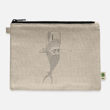 Whale-Man - Carry All Pouch