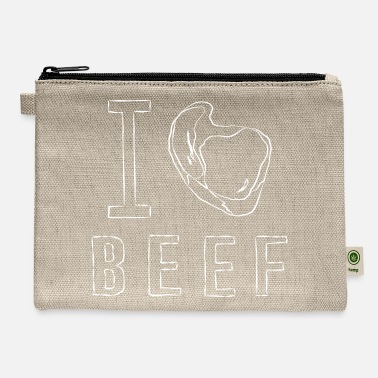 I Love Beef I BEEF - Carry All Pouch