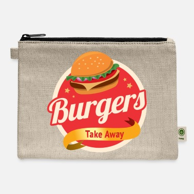 Take-away Burger s Take Away - Carry All Pouch