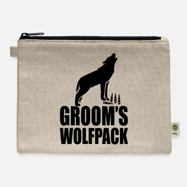 Wolfpack Groom's Wolfpack - Carry All Pouch