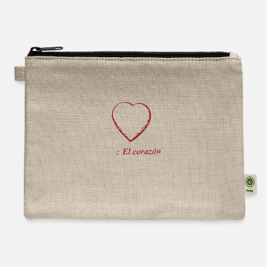 Corazon El Corazon - Carry All Pouch