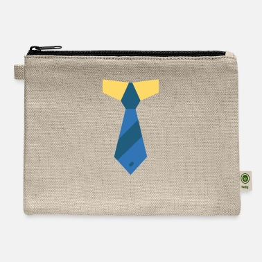 Necktie necktie illustration - Carry All Pouch