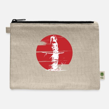 Samurai Bushido Samurai Japanese martial arts warrior - Carry All Pouch