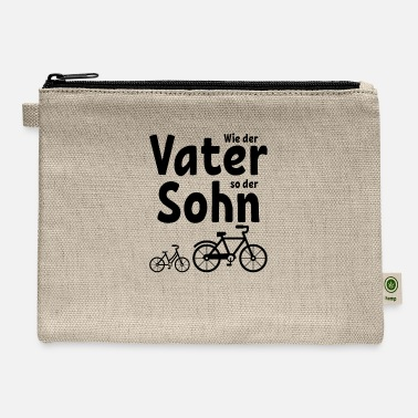 Mountains Like the father like the son bike bike gift - Carry All Pouch