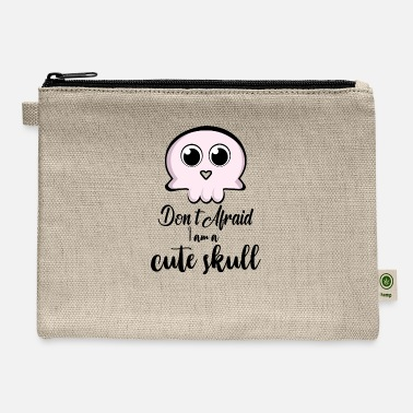 Cute Skull cute skull - Carry All Pouch