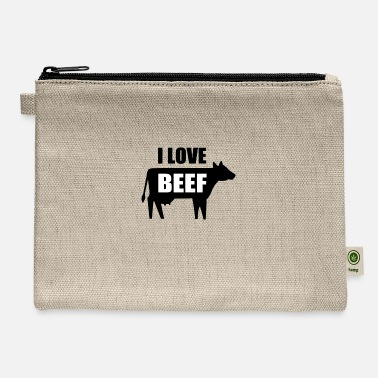 I Love Beef I Love Beef - Carry All Pouch