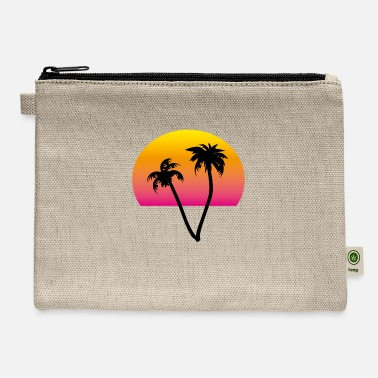 palms and sun II - Carry All Pouch
