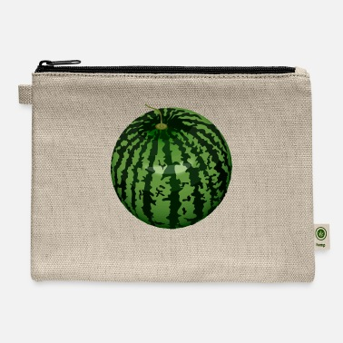 Moleskin Watermelon - Carry All Pouch