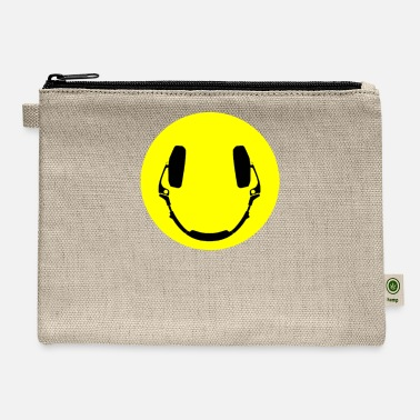 Smiley Headphones Headphones smiley - Carry All Pouch