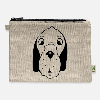 Dog Head dog head - Carry All Pouch