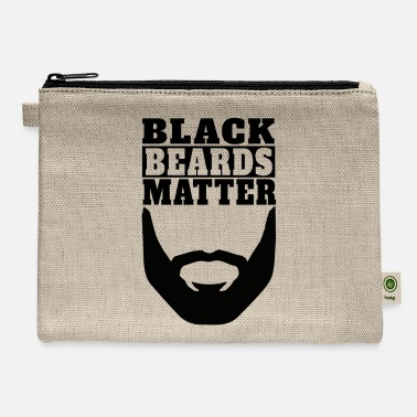 Black Beards Matter - Carry All Pouch