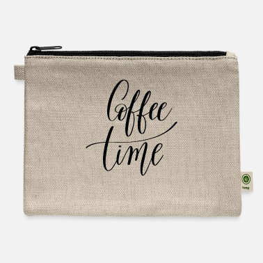 Beverage coffee time - Carry All Pouch