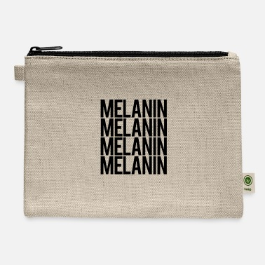Melanin 4xs- BLACK - Carry All Pouch