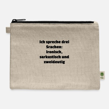 Language languages - Carry All Pouch